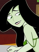 Shego with muzzle slams Ron's great cock before gets nailed